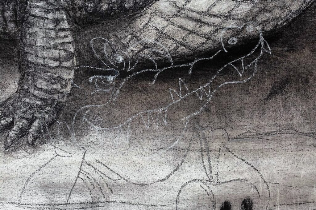 The Nile Crocodile detail