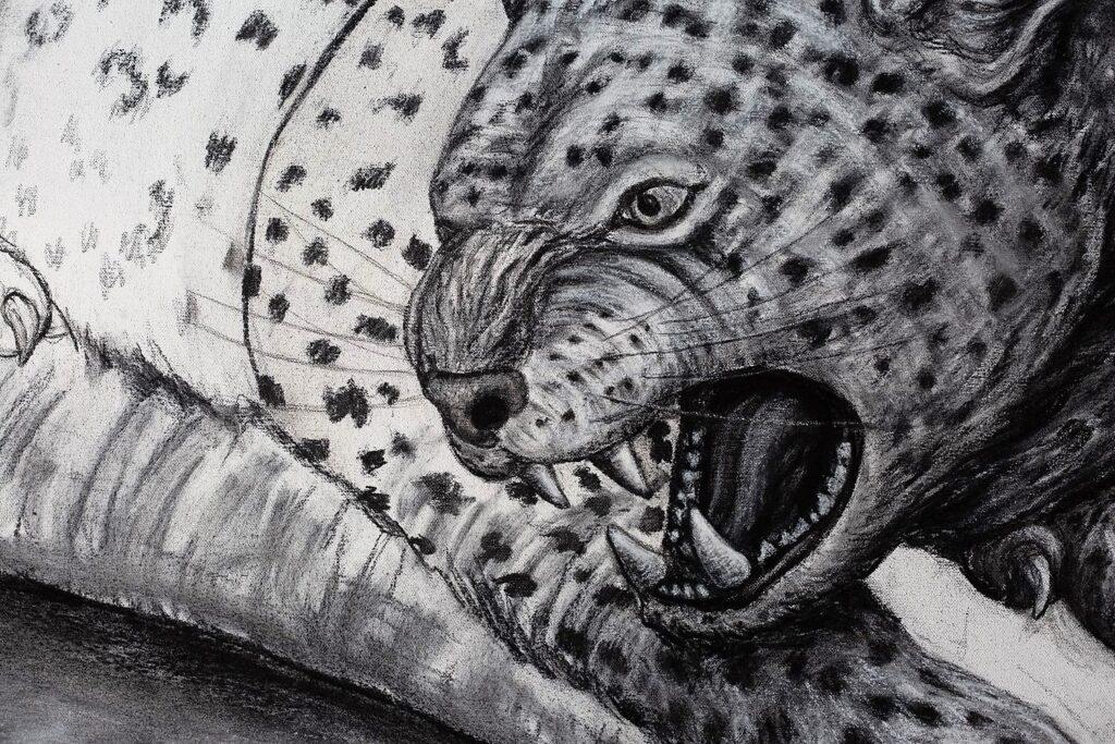 The Leopard detail