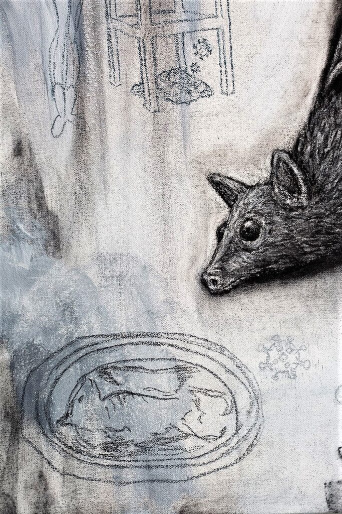The Flying Fox detail